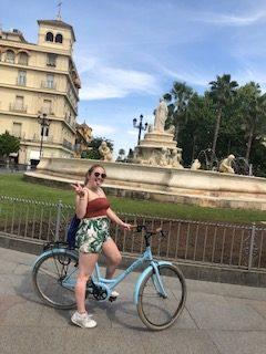 Chloe, Travel & Tourism student, Seville