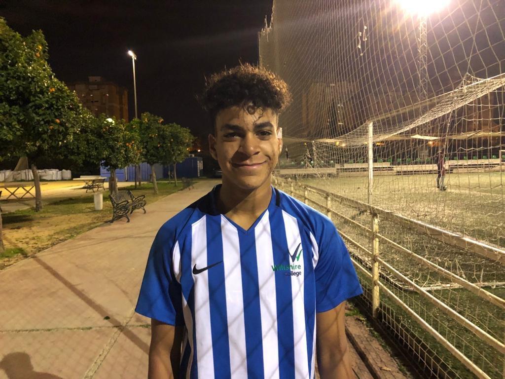 Tyler, Sports student, Seville